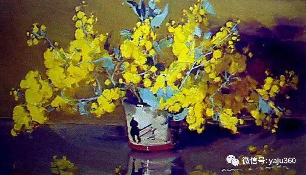 静物花卉 澳大利亚Alan Douglas Baker作品欣赏插图9