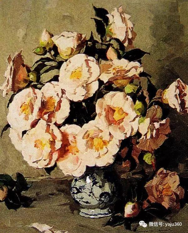 静物花卉 澳大利亚Alan Douglas Baker作品欣赏插图15