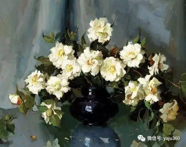 静物花卉 澳大利亚Alan Douglas Baker作品欣赏插图23