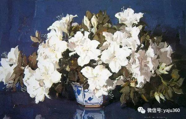 静物花卉 澳大利亚Alan Douglas Baker作品欣赏插图25