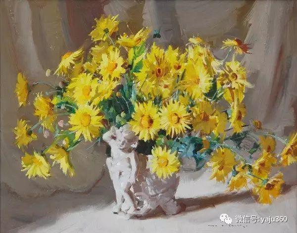 静物花卉 澳大利亚Alan Douglas Baker作品欣赏插图27