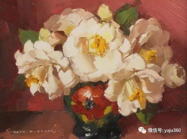 静物花卉 澳大利亚Alan Douglas Baker作品欣赏插图31