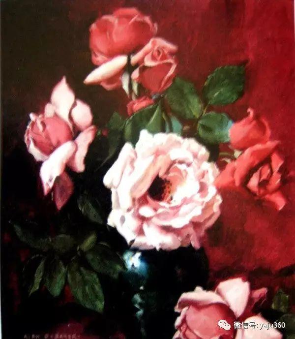 静物花卉 澳大利亚Alan Douglas Baker作品欣赏插图33