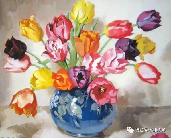 静物花卉 澳大利亚Alan Douglas Baker作品欣赏插图35