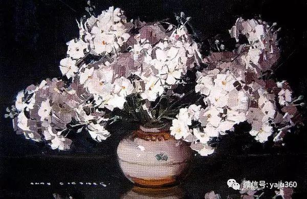 静物花卉 澳大利亚Alan Douglas Baker作品欣赏插图37