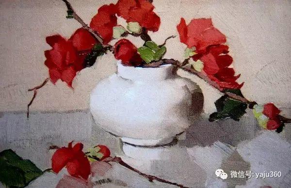 静物花卉 澳大利亚Alan Douglas Baker作品欣赏插图39