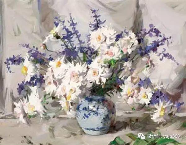 静物花卉 澳大利亚Alan Douglas Baker作品欣赏插图55