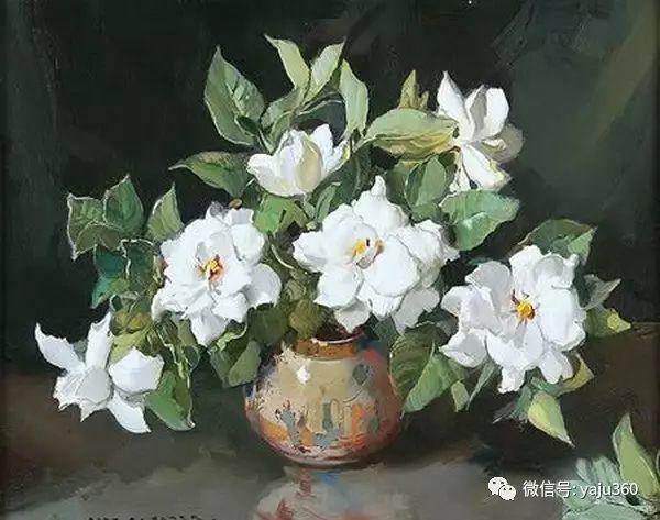 静物花卉 澳大利亚Alan Douglas Baker作品欣赏插图57