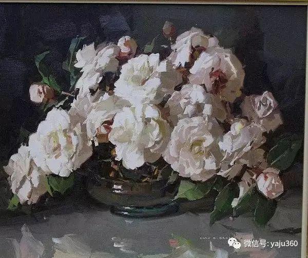 静物花卉 澳大利亚Alan Douglas Baker作品欣赏插图63