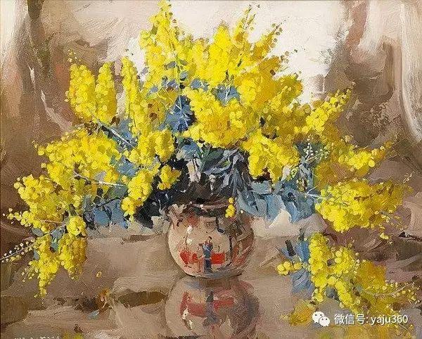 静物花卉 澳大利亚Alan Douglas Baker作品欣赏插图73