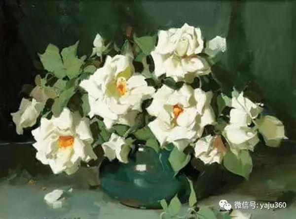 静物花卉 澳大利亚Alan Douglas Baker作品欣赏插图75