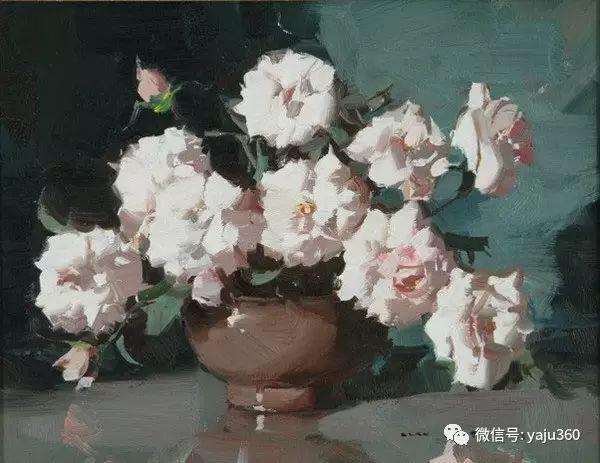 静物花卉 澳大利亚Alan Douglas Baker作品欣赏插图77