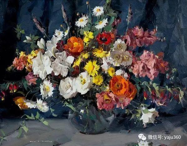 静物花卉 澳大利亚Alan Douglas Baker作品欣赏插图79