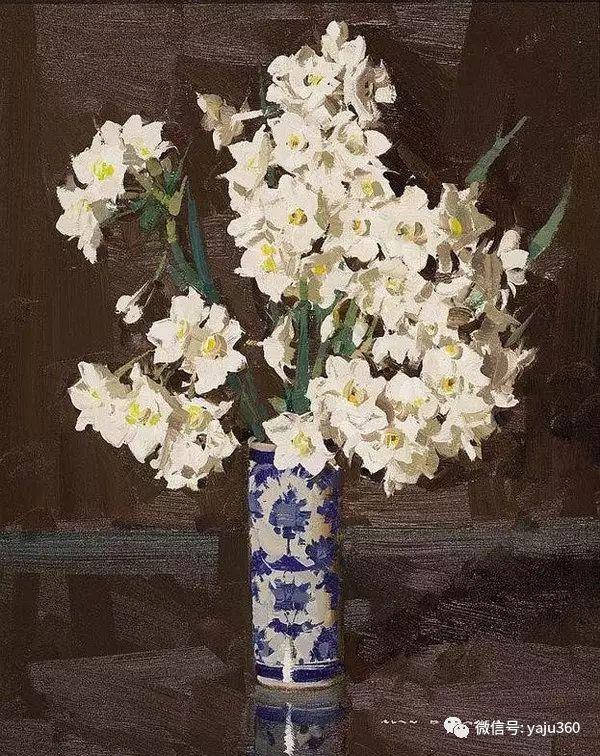 静物花卉 澳大利亚Alan Douglas Baker作品欣赏插图81