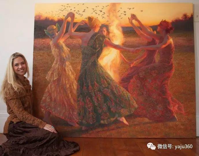 内心的独白 美国女画家Adrienne Stein作品欣赏插图3