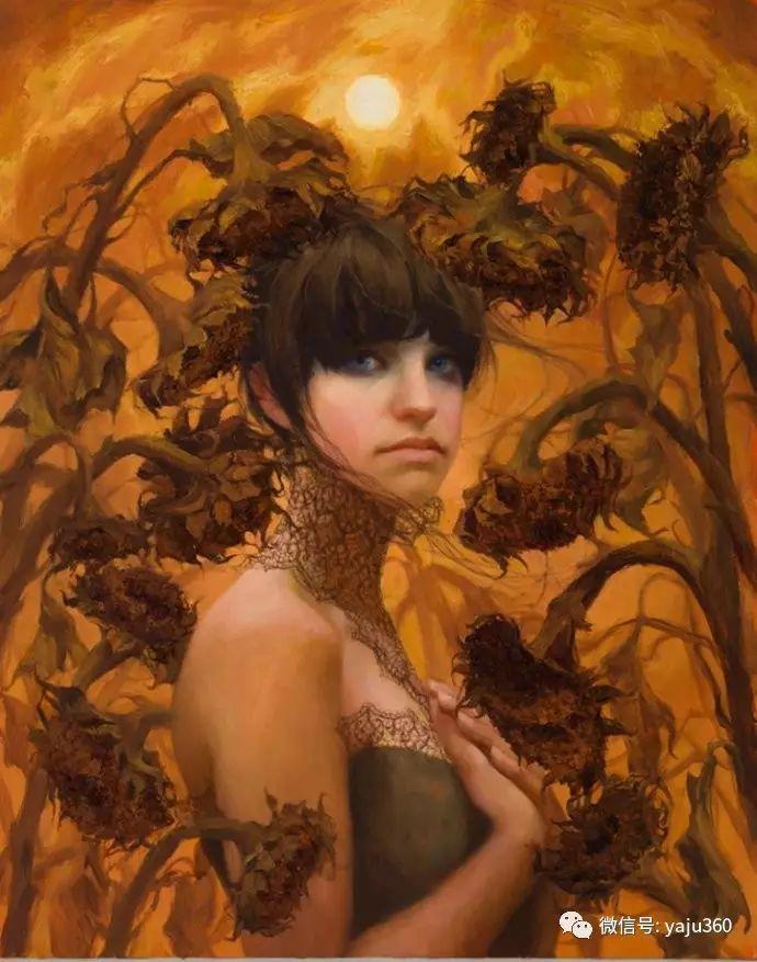 内心的独白 美国女画家Adrienne Stein作品欣赏插图5