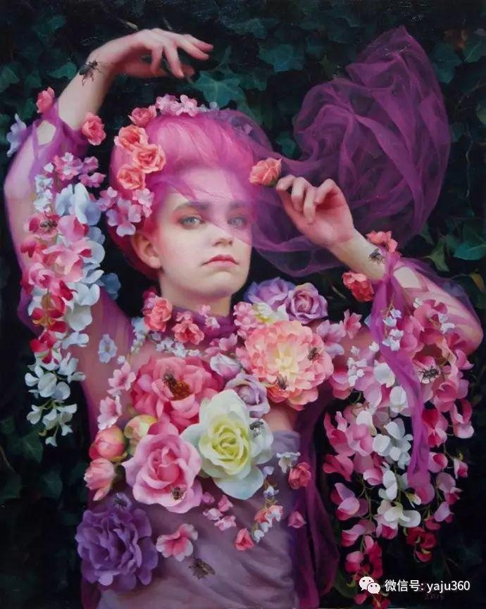 内心的独白 美国女画家Adrienne Stein作品欣赏插图9