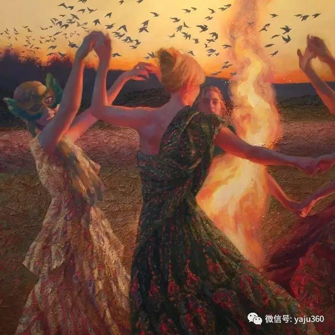 内心的独白 美国女画家Adrienne Stein作品欣赏插图17