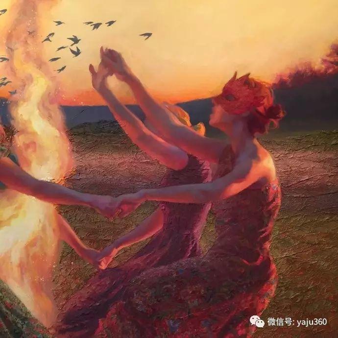 内心的独白 美国女画家Adrienne Stein作品欣赏插图19