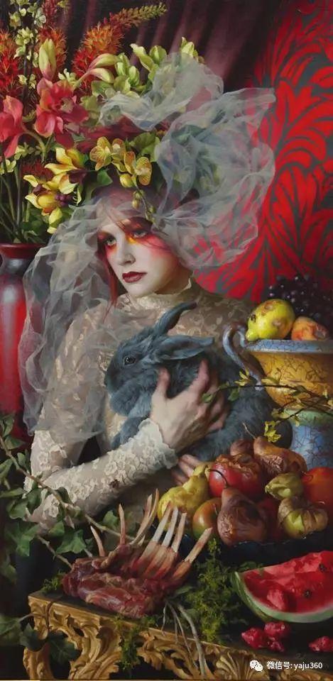 内心的独白 美国女画家Adrienne Stein作品欣赏插图25