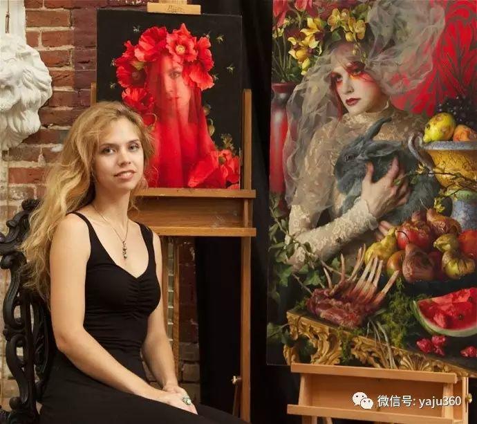 内心的独白 美国女画家Adrienne Stein作品欣赏插图27
