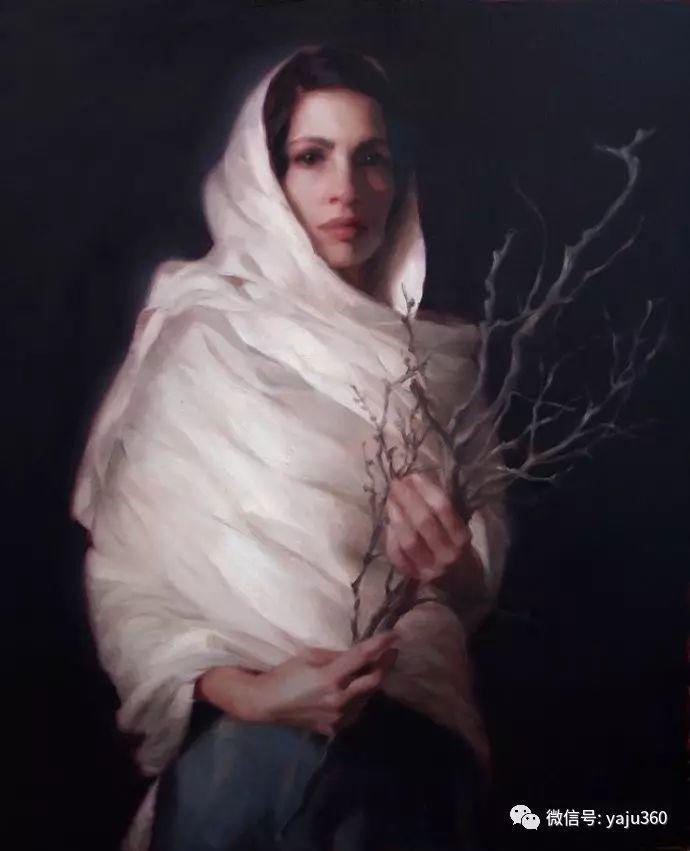 内心的独白 美国女画家Adrienne Stein作品欣赏插图31