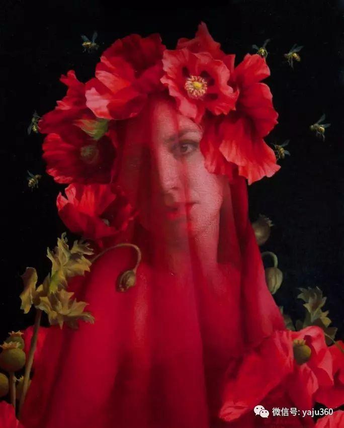 内心的独白 美国女画家Adrienne Stein作品欣赏插图35