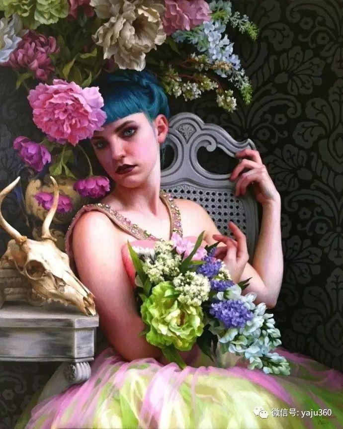 内心的独白 美国女画家Adrienne Stein作品欣赏插图39