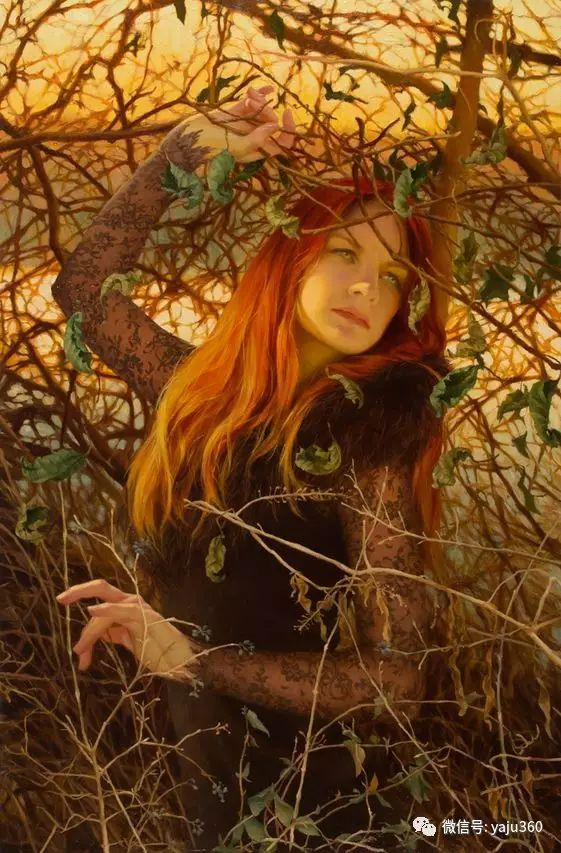 内心的独白 美国女画家Adrienne Stein作品欣赏插图41