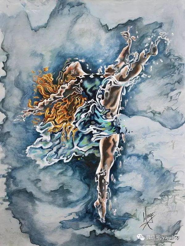 一个人的舞蹈  Цитата сообщения油画作品插图9