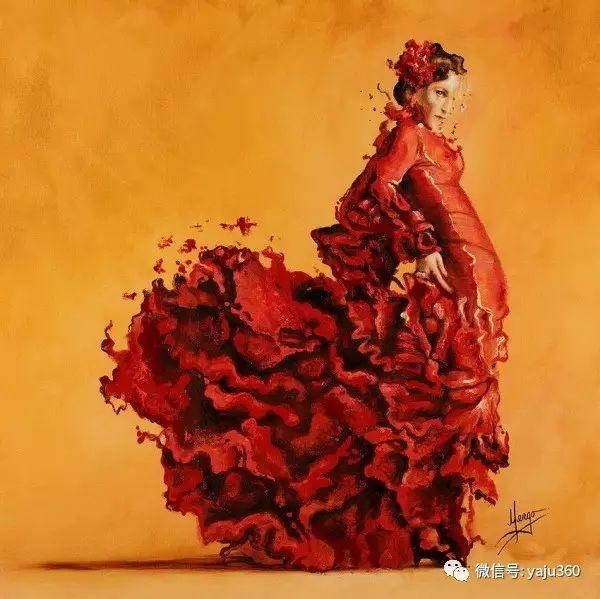 一个人的舞蹈  Цитата сообщения油画作品插图13