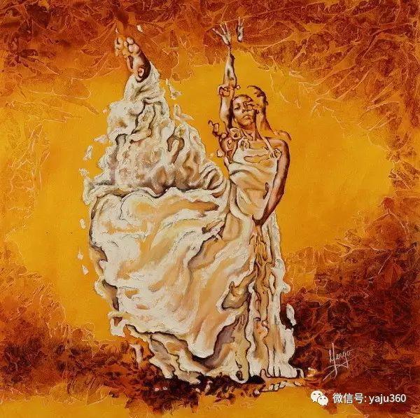 一个人的舞蹈  Цитата сообщения油画作品插图15