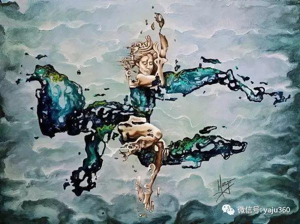 一个人的舞蹈  Цитата сообщения油画作品插图19