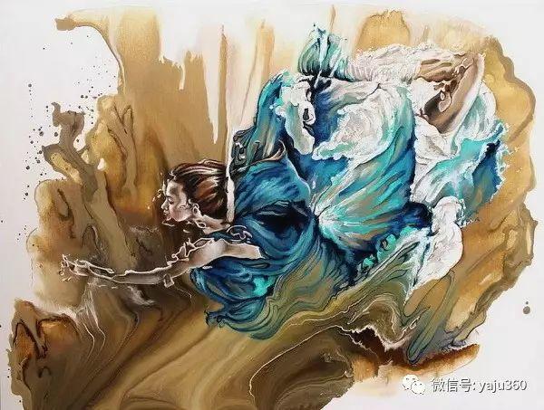 一个人的舞蹈  Цитата сообщения油画作品插图22