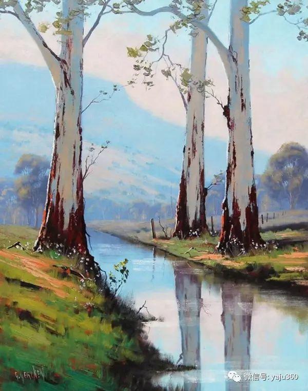 风景油画  澳大利亚印象派画家Graham Gercken作品插图3
