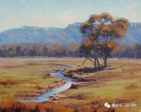 风景油画  澳大利亚印象派画家Graham Gercken作品插图5