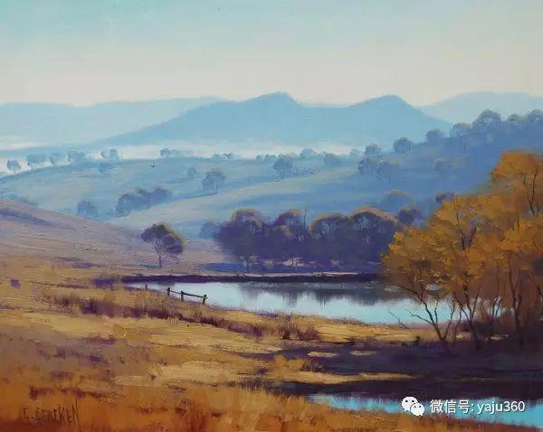 风景油画  澳大利亚印象派画家Graham Gercken作品插图7