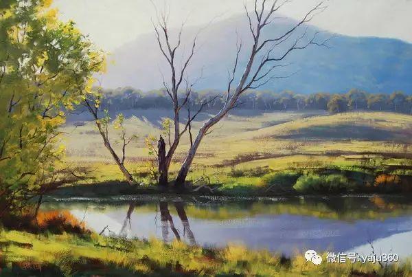风景油画  澳大利亚印象派画家Graham Gercken作品插图9