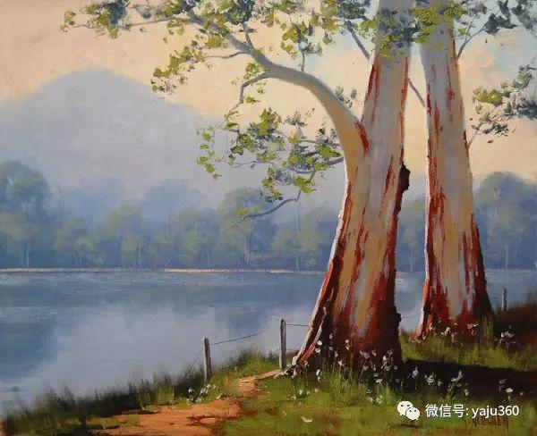 风景油画  澳大利亚印象派画家Graham Gercken作品插图15
