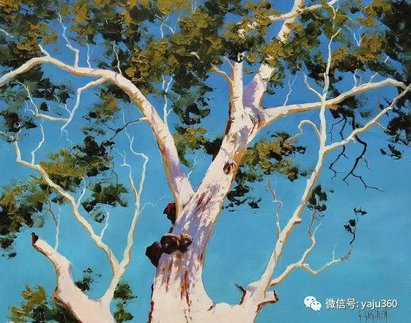 风景油画  澳大利亚印象派画家Graham Gercken作品插图17
