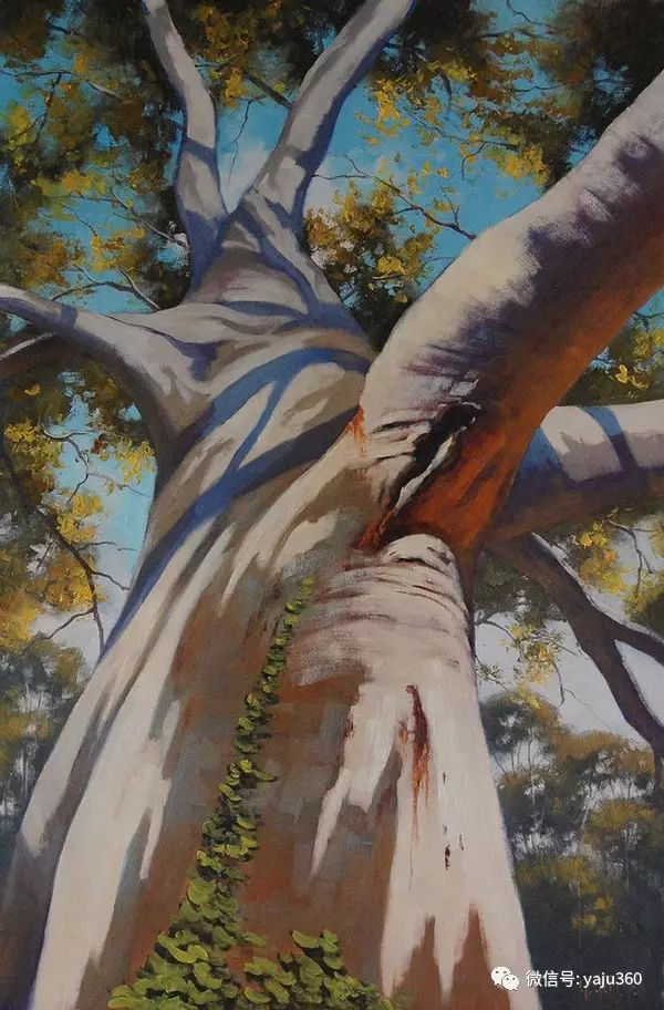 风景油画  澳大利亚印象派画家Graham Gercken作品插图29