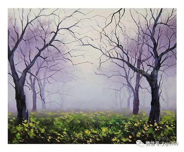 风景油画  澳大利亚印象派画家Graham Gercken作品插图35