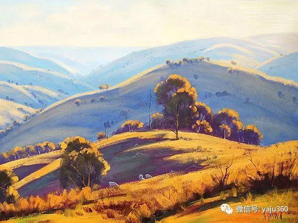 风景油画  澳大利亚印象派画家Graham Gercken作品插图37
