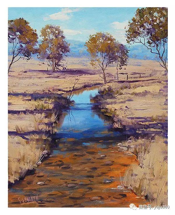 风景油画  澳大利亚印象派画家Graham Gercken作品插图39