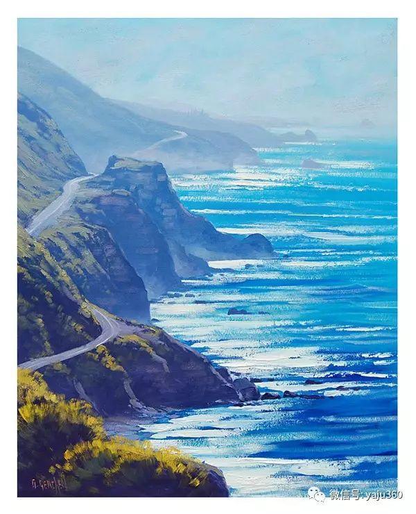 风景油画  澳大利亚印象派画家Graham Gercken作品插图41