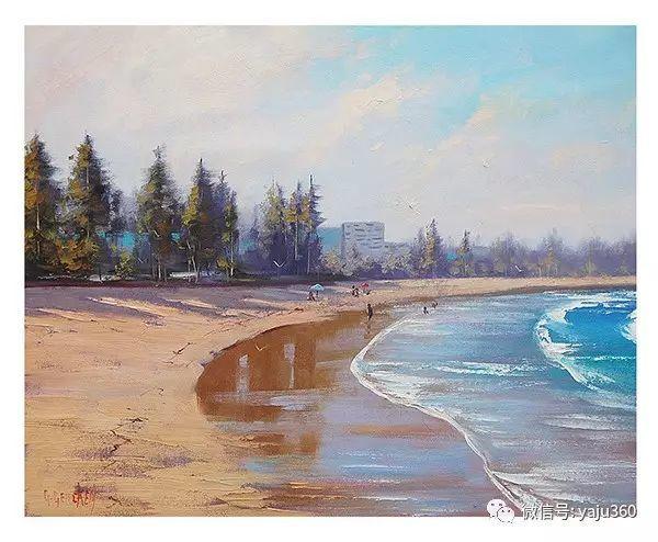 风景油画  澳大利亚印象派画家Graham Gercken作品插图43
