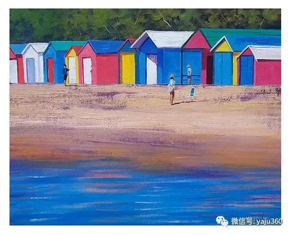 风景油画  澳大利亚印象派画家Graham Gercken作品插图45