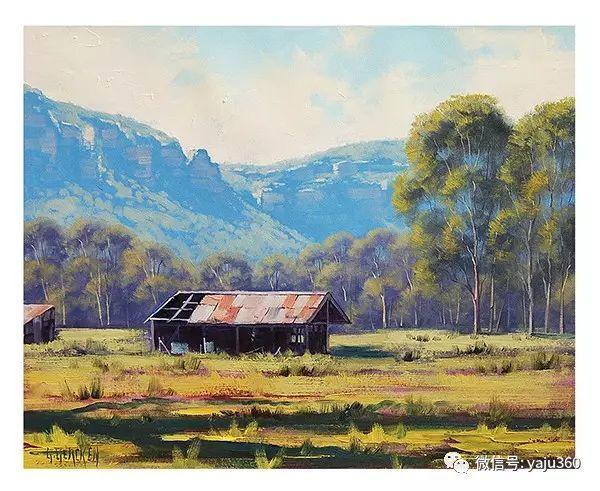 风景油画  澳大利亚印象派画家Graham Gercken作品插图47