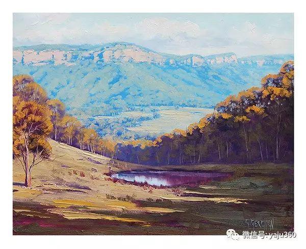 风景油画  澳大利亚印象派画家Graham Gercken作品插图49