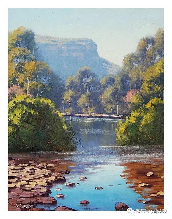 风景油画  澳大利亚印象派画家Graham Gercken作品插图51